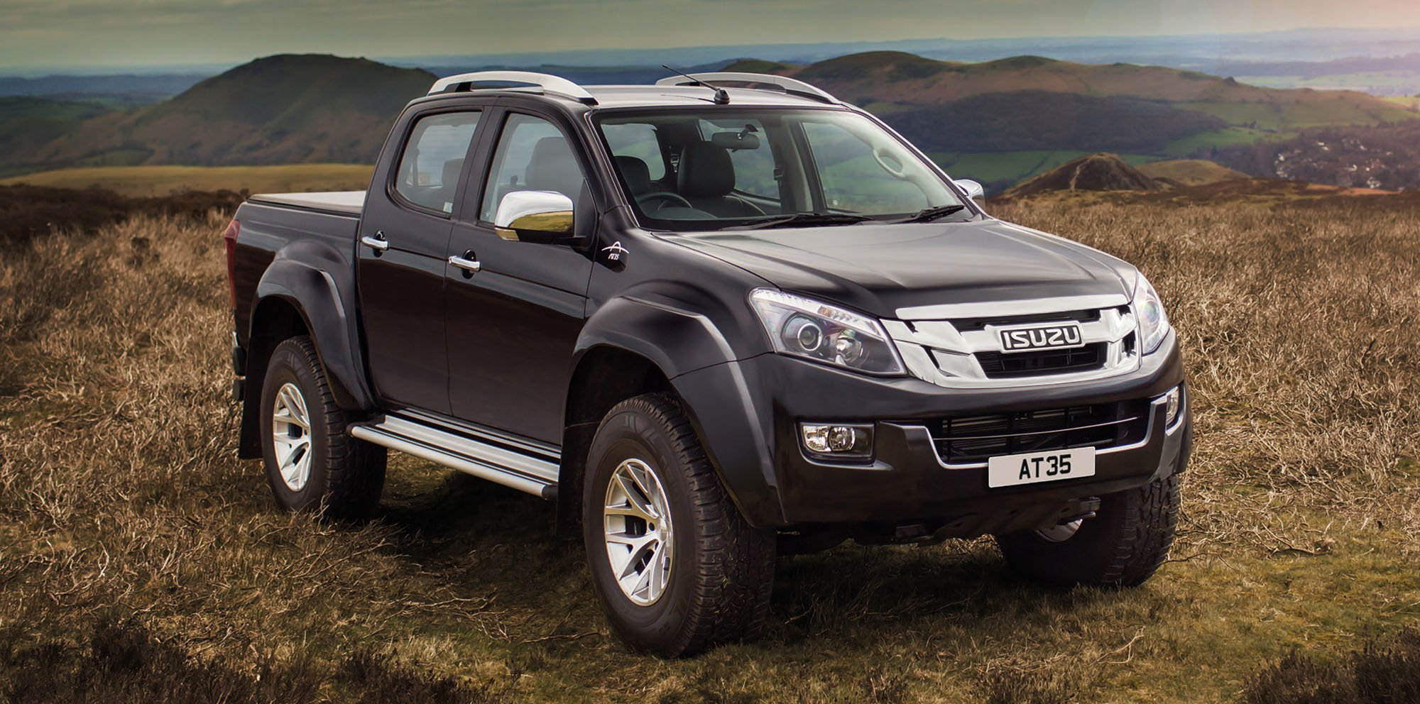 Isuzu is launching the most extreme D-Max to bolster its already  comprehensive model line-up. The new Isuzu D-Max Arctic Trucks AT35 is  engineered to excel ...
